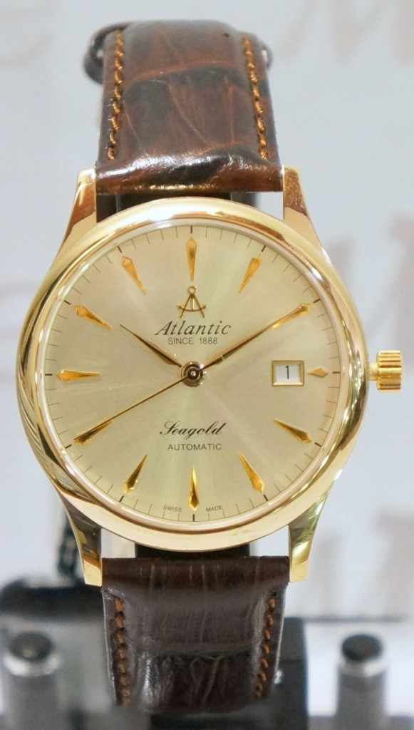 Zegarek Atlantic, 95743.65.31, SEAGOLD Gents' 14 Carat Automatic