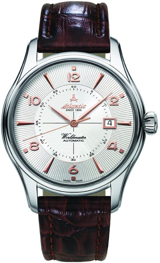 Zegarek Atlantic, 52752.41.25R, Worldmaster 1888 Automatic