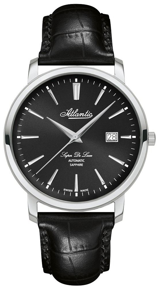 Zegarek Atlantic, 64751.41.61, Męski, Super De Luxe Automatic
