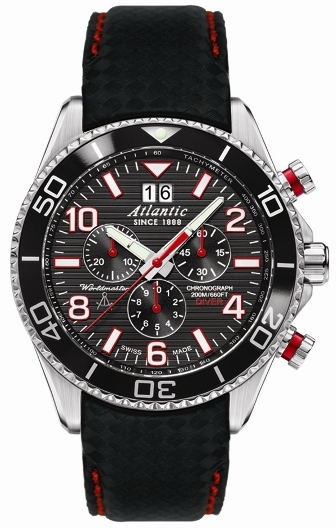 Zegarek Atlantic, 55470.47.65RC, Worldmaster Diver Chrono