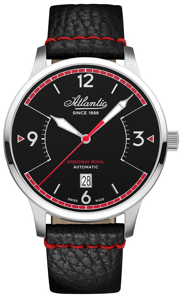 Zegarek Atlantic, 68750.41.65, Męski, Speedway Automatic Royal